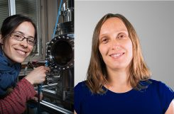 Marta Gibert and Ana Akrap obtain a SNFS professorship