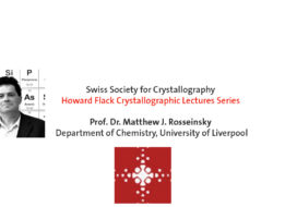 The Howard Flack Crystallographic Lecture Series – Prof. Matthew J. Rosseinsky
