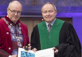Jean-Marc awarded an honorary doctorate